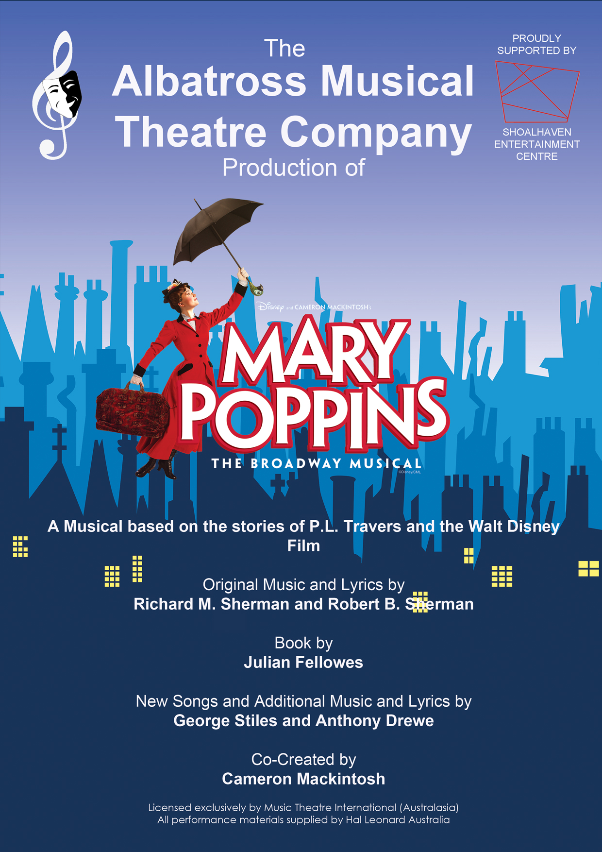 Mary Poppins Albatross Musical Theatre Company