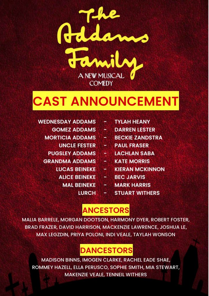 Addams Family Cast